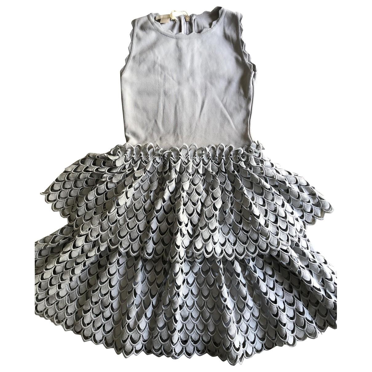 Antonio Berardi \N Kleid in  Grau Spitze