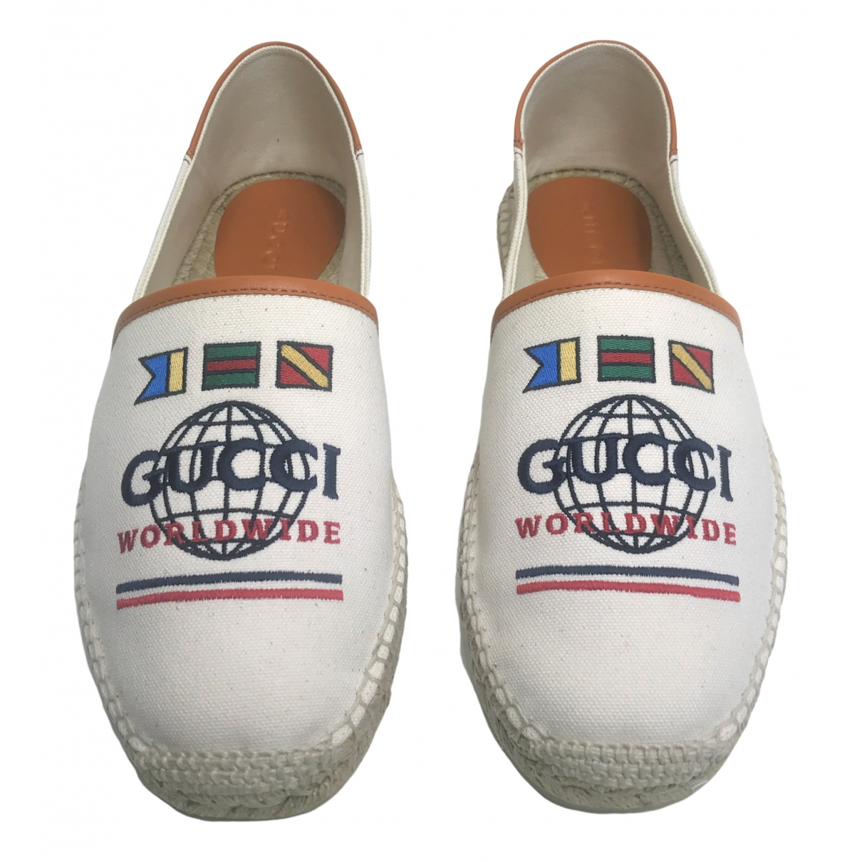 Gucci \N White Cloth Espadrilles for Men 8.5 UK