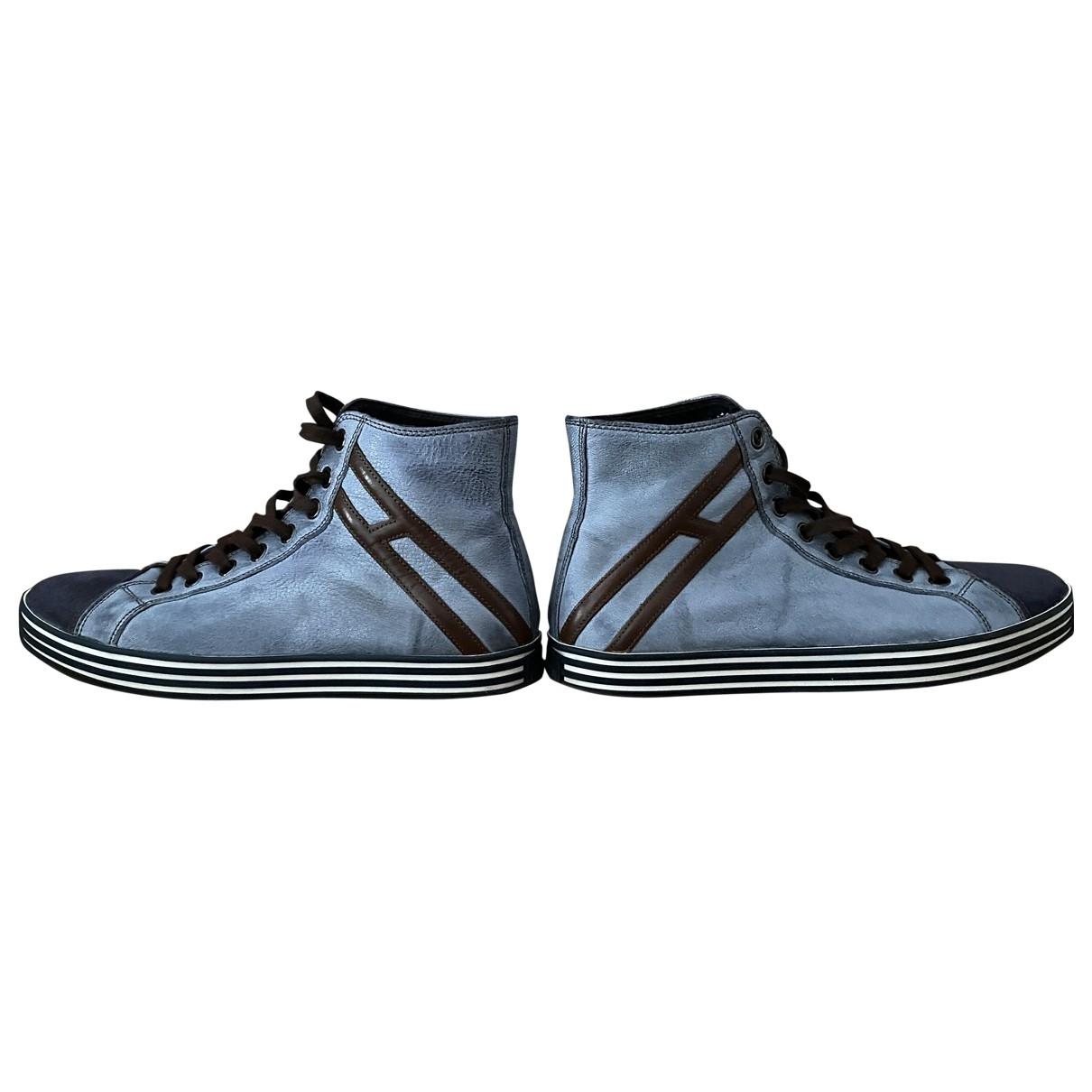 Hogan \N Sneakers in Leder