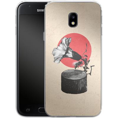 Samsung Galaxy J3 (2017) Silikon Handyhuelle - Gramophone von Ali Gulec