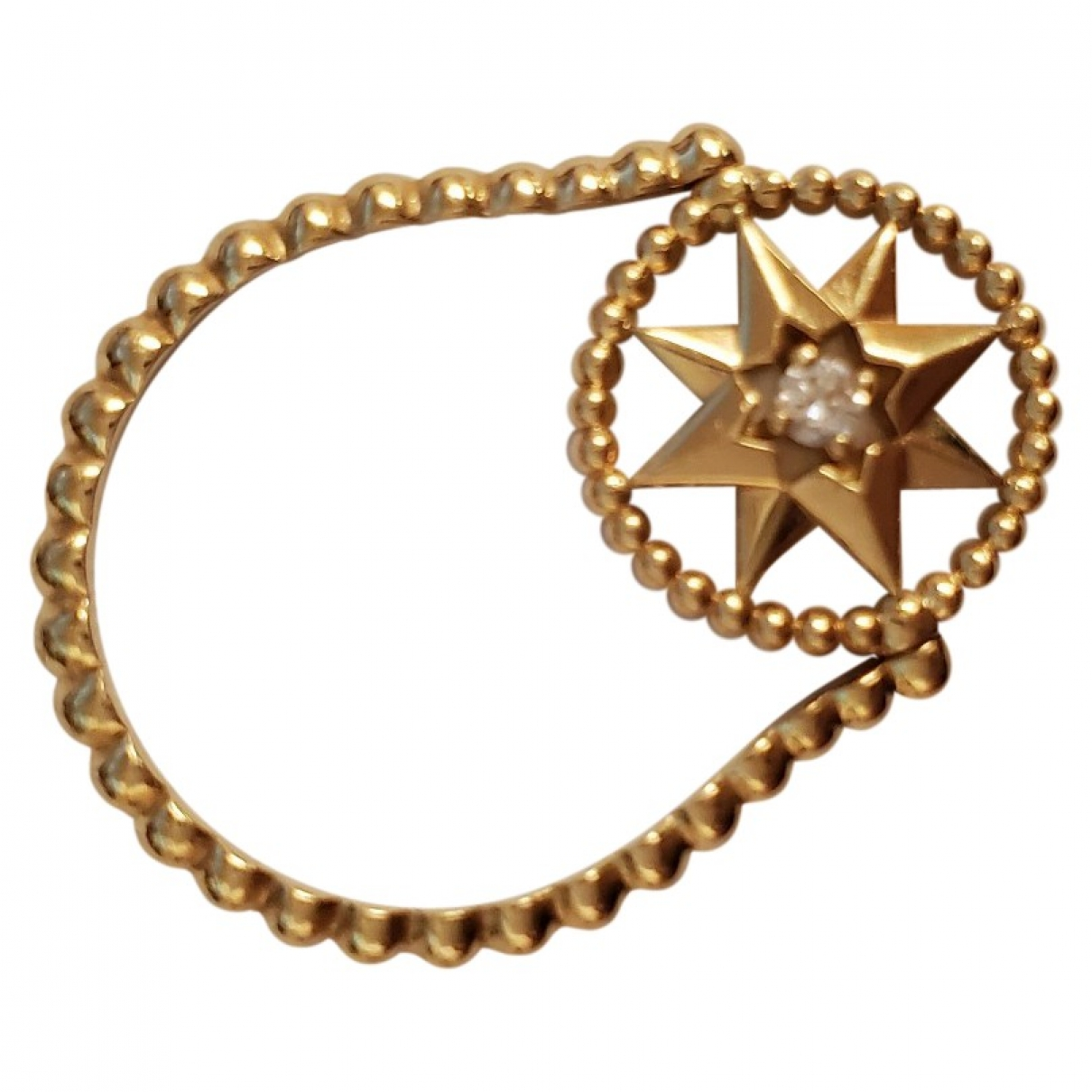 Dior - Bague Rose des vents pour femme en or jaune - dore