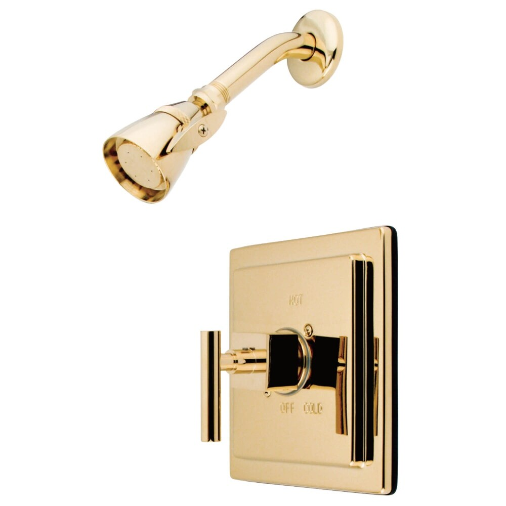 Kingston Brass KB865.CQL.SO Shower Only Trim Package with 1.8 GPM (Satin Nickel)