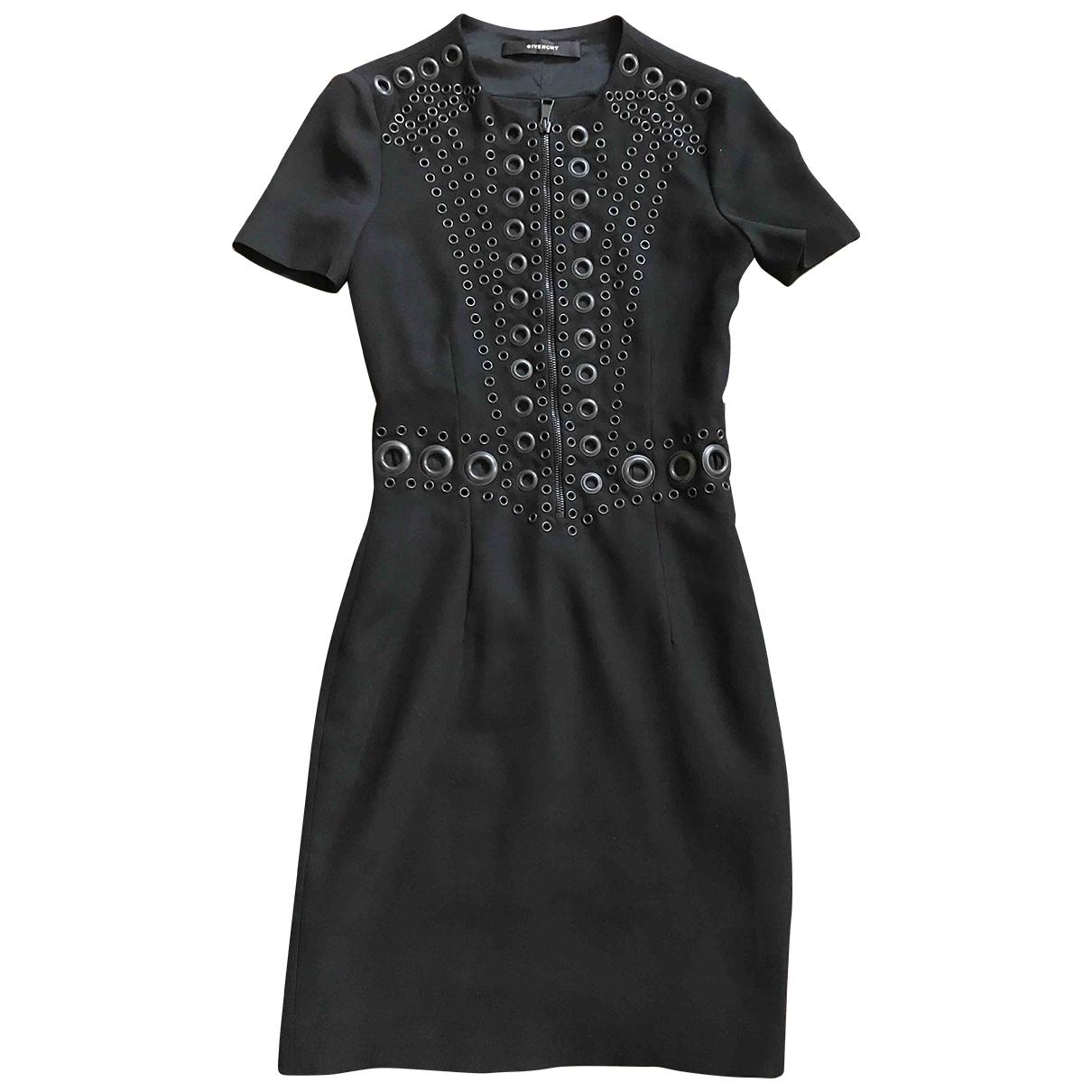 Givenchy \N Kleid in  Schwarz Polyester
