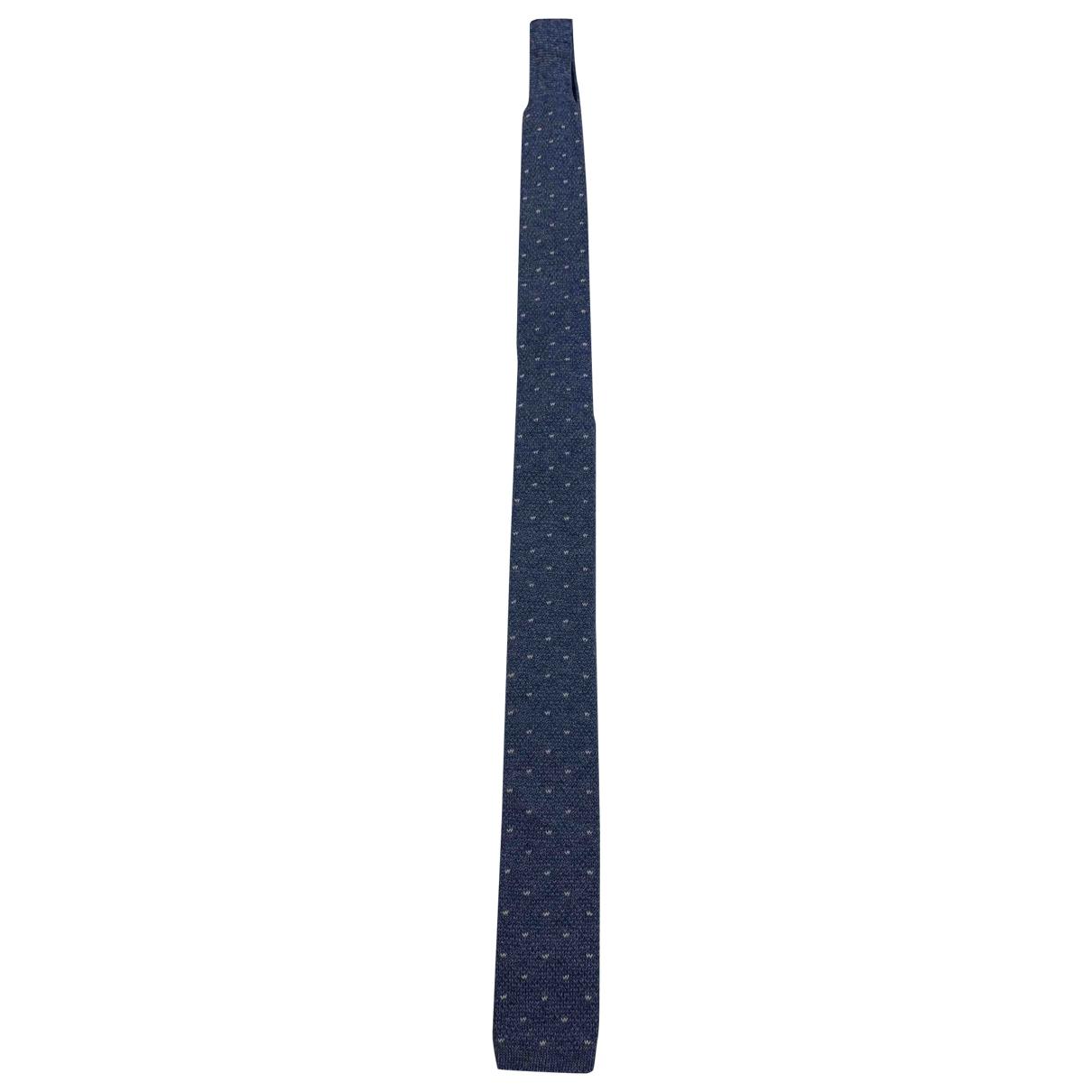 Loro Piana - Cravates   pour homme en coton - marine