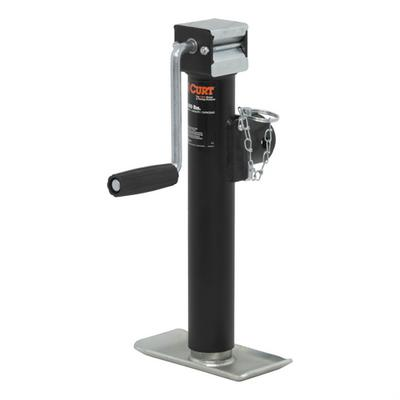 Curt Manufacturing Pipe Mount Swivel Jack - 28321