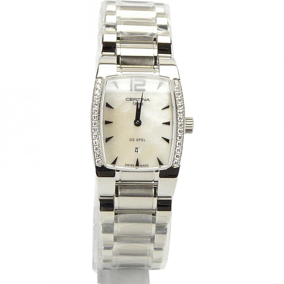 Certina \N Silver Steel watch for Women \N