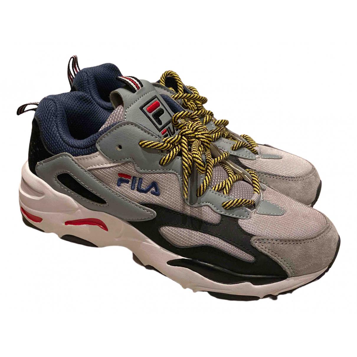 Fila \N Sneakers in Leinen