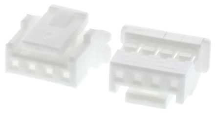JST , PA Female Connector Housing, 2mm Pitch, 4 Way, 1 Row (10)