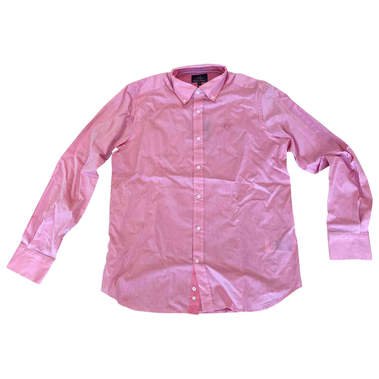 - Chemises   pour homme en coton - rose