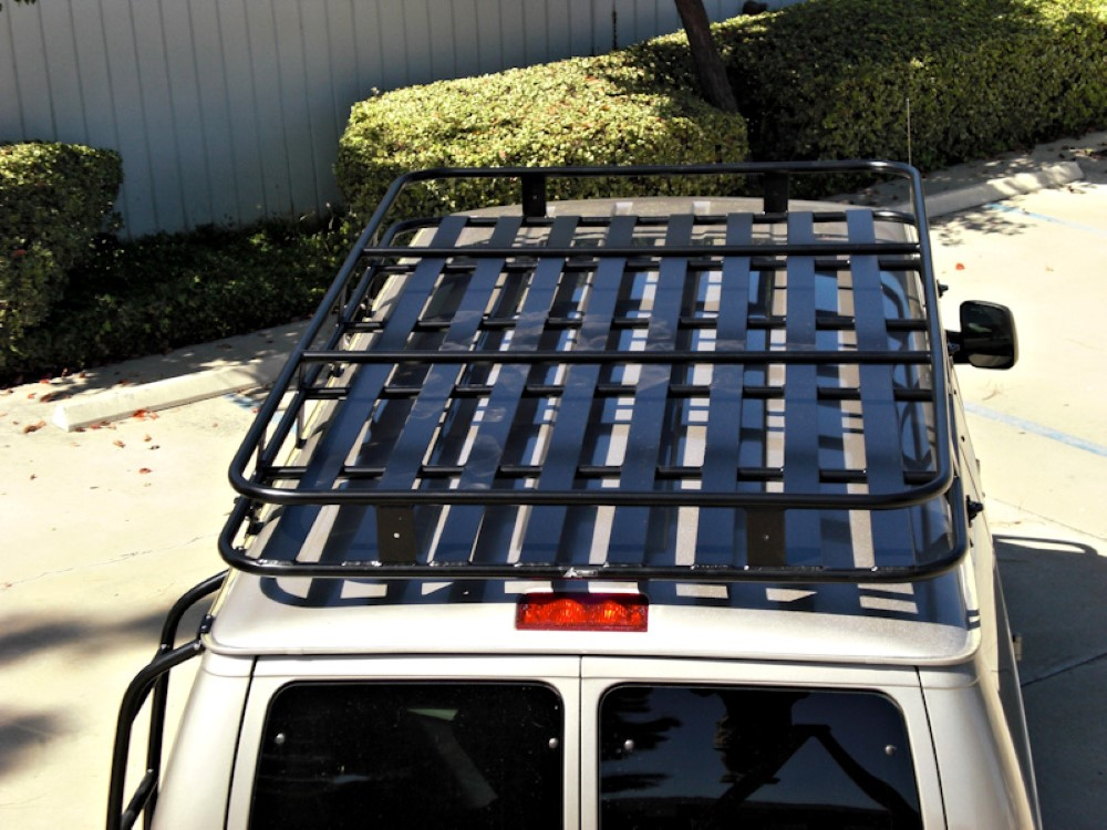 Aluminess 210405.1 Roof Rack Extended Body SMB Tex|IND Penthouse - Full Perforated Ford Econoline