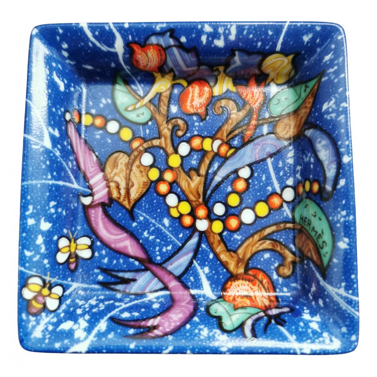 Hermes - Objets & Deco   pour lifestyle en porcelaine - bleu