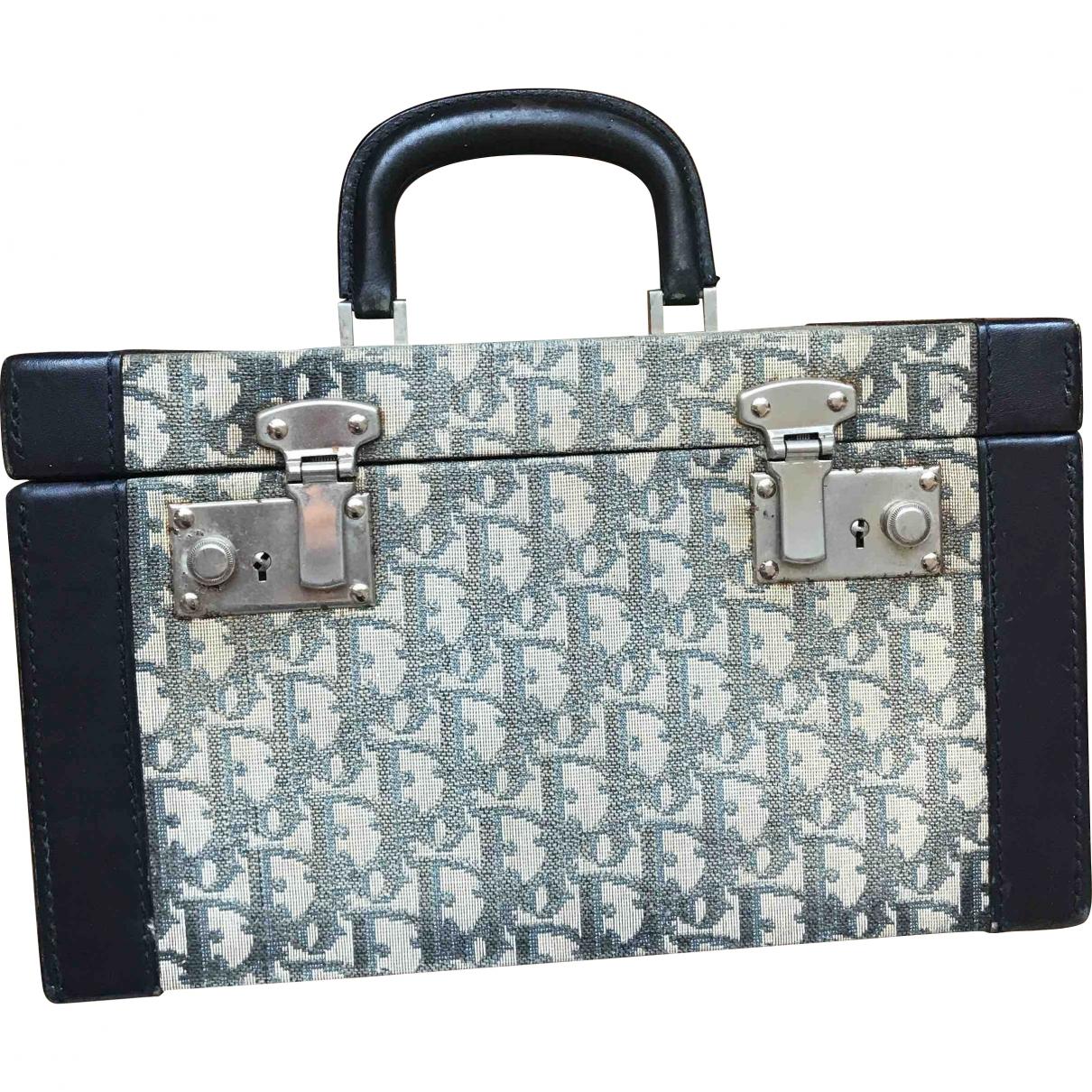 Dior \N Blue Cloth Travel bag for Women \N