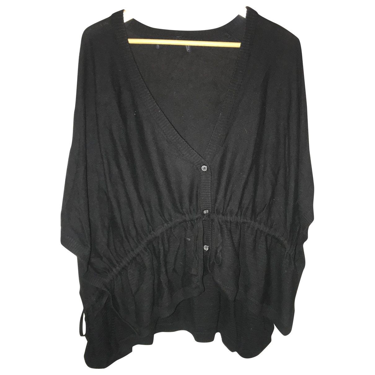 Zara \N Pullover in  Schwarz Wolle