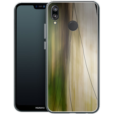 Huawei P20 Lite Silikon Handyhuelle - Breathe von Joy StClaire