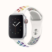 1pc Silicone Sports iWatch Band