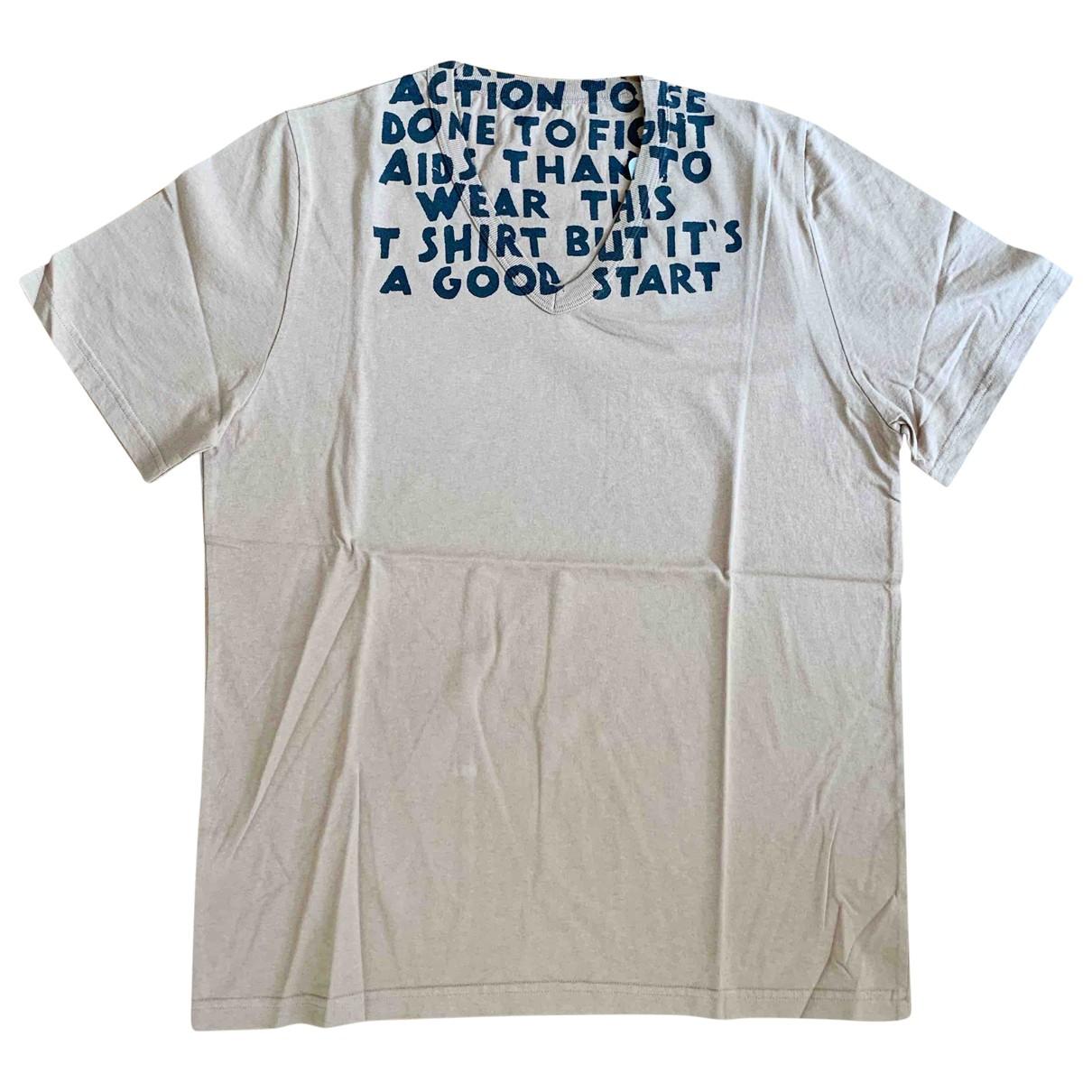 Maison Martin Margiela - Tee shirts   pour homme en coton - marron