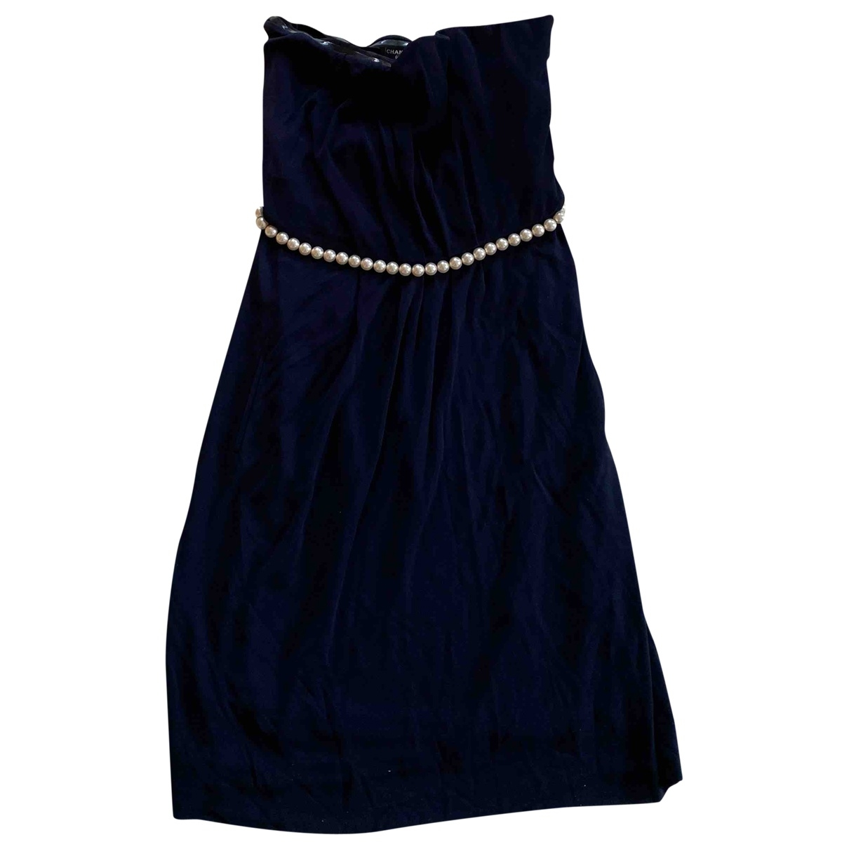Chanel - Robe   pour femme - marine