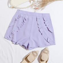 Shorts Cremallera Liso Colores Pastel Bohemio