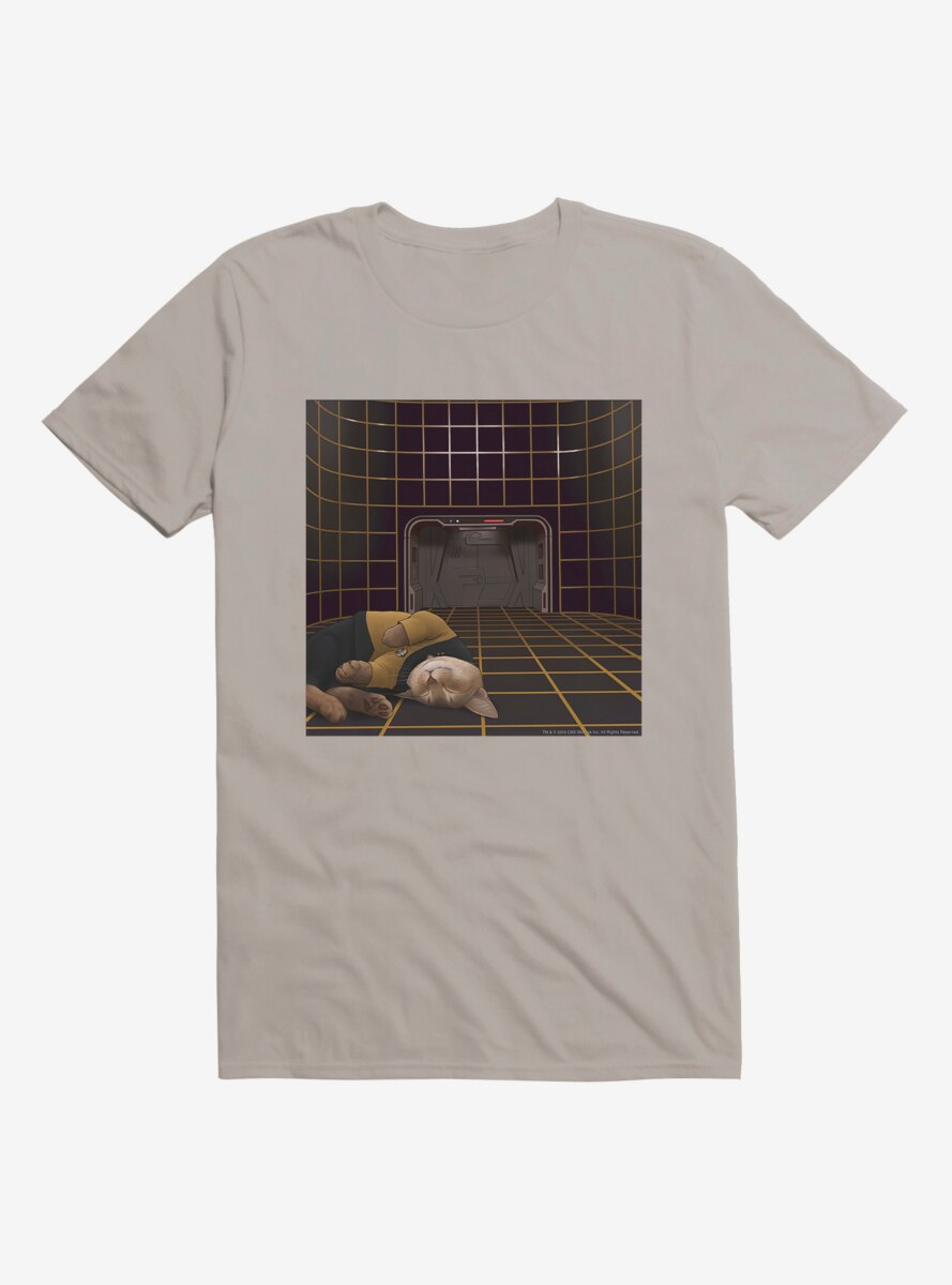 Star Trek The Next Generation Cats Barclay Cat Nap T-Shirt