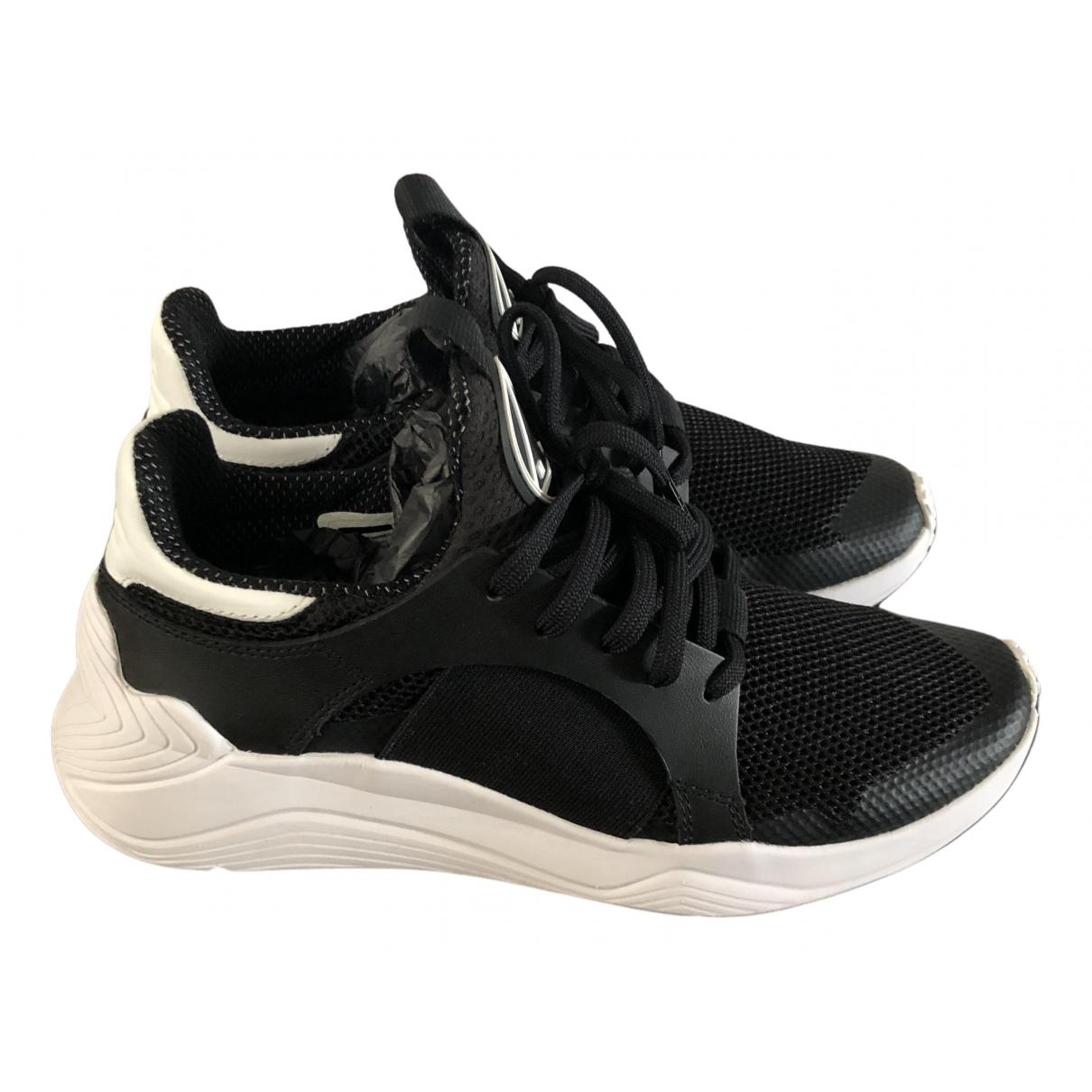 Mcq \N Sneakers in  Schwarz Leinen