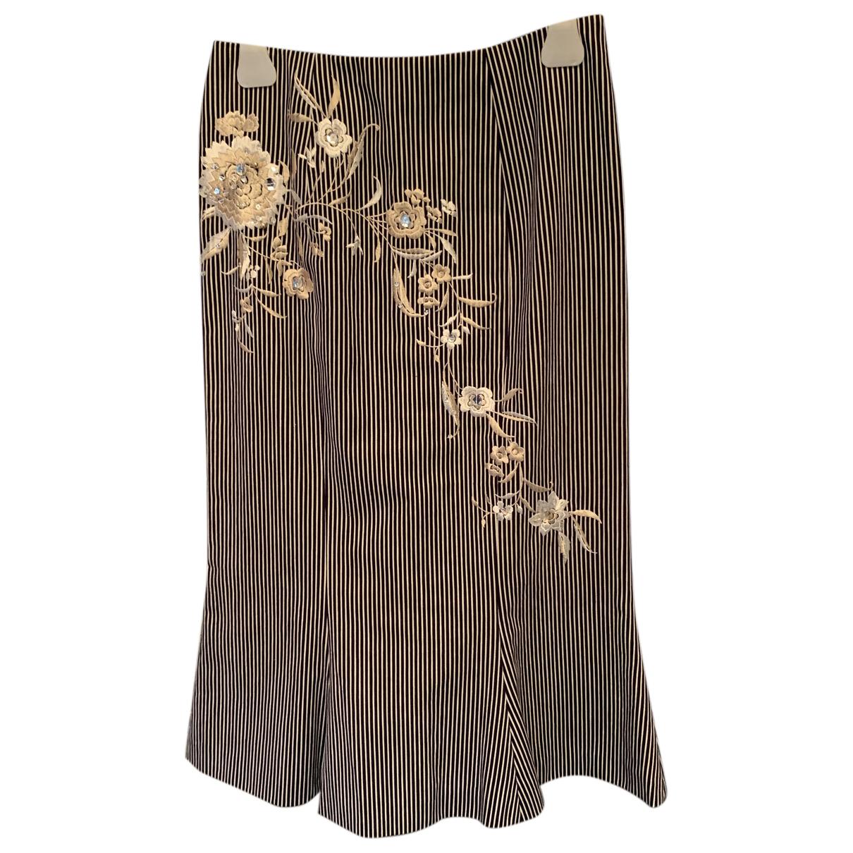 John Galliano - Jupe   pour femme en coton - noir