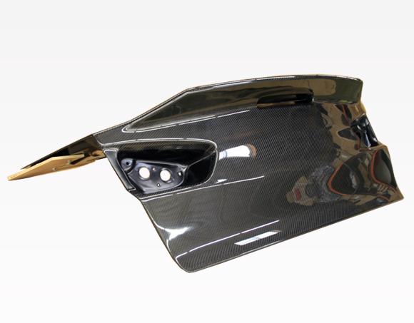 VIS Racing 08MTEV104DDEM-020C Demon Style Carbon Fiber Trunk Mitsubishi Evolution X 08-15