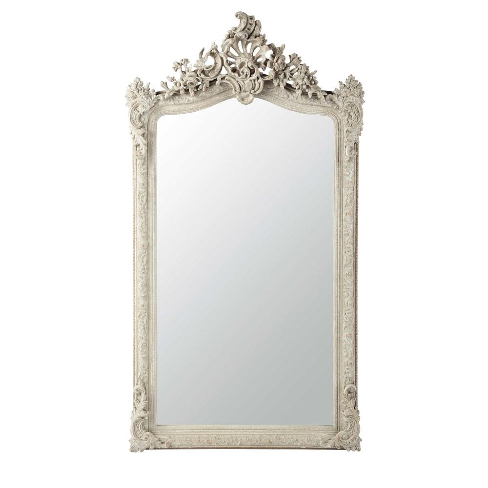 Spiegel grau aus Kunstharz H153 KONSERVATORIUM