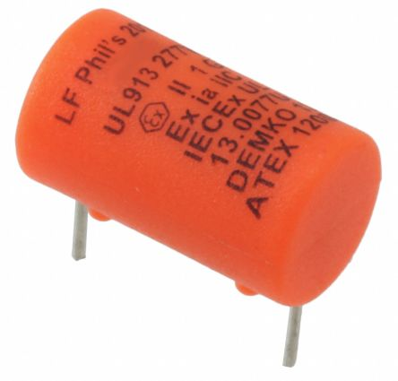 Littelfuse 250mA Radial F Non-Resettable Wire Ended Fuse, 277V ac/dc