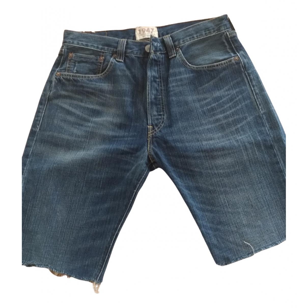 Levi's \N Blue Denim - Jeans Shorts for Women 32 FR