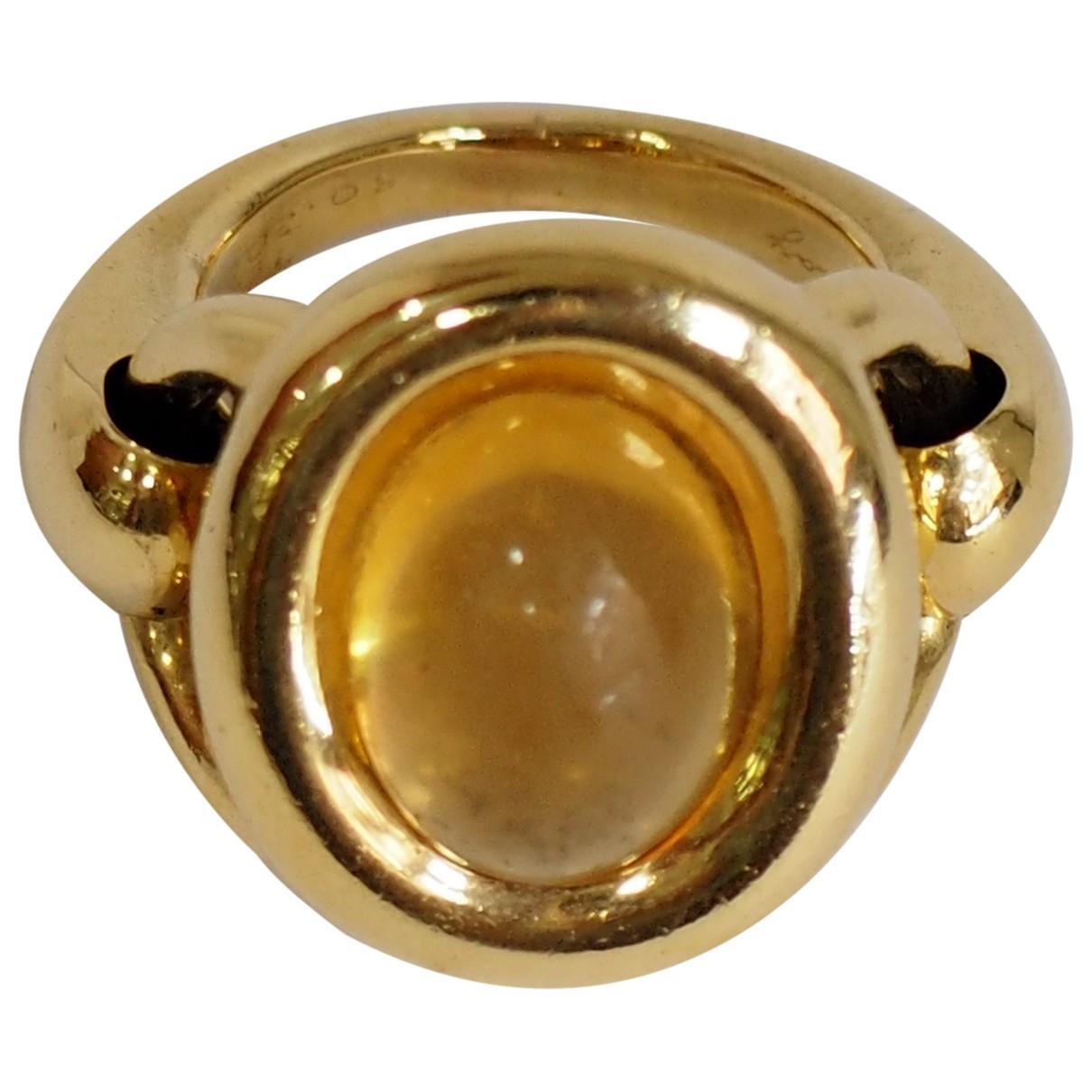 Poiray - Bague   pour femme en or jaune - dore