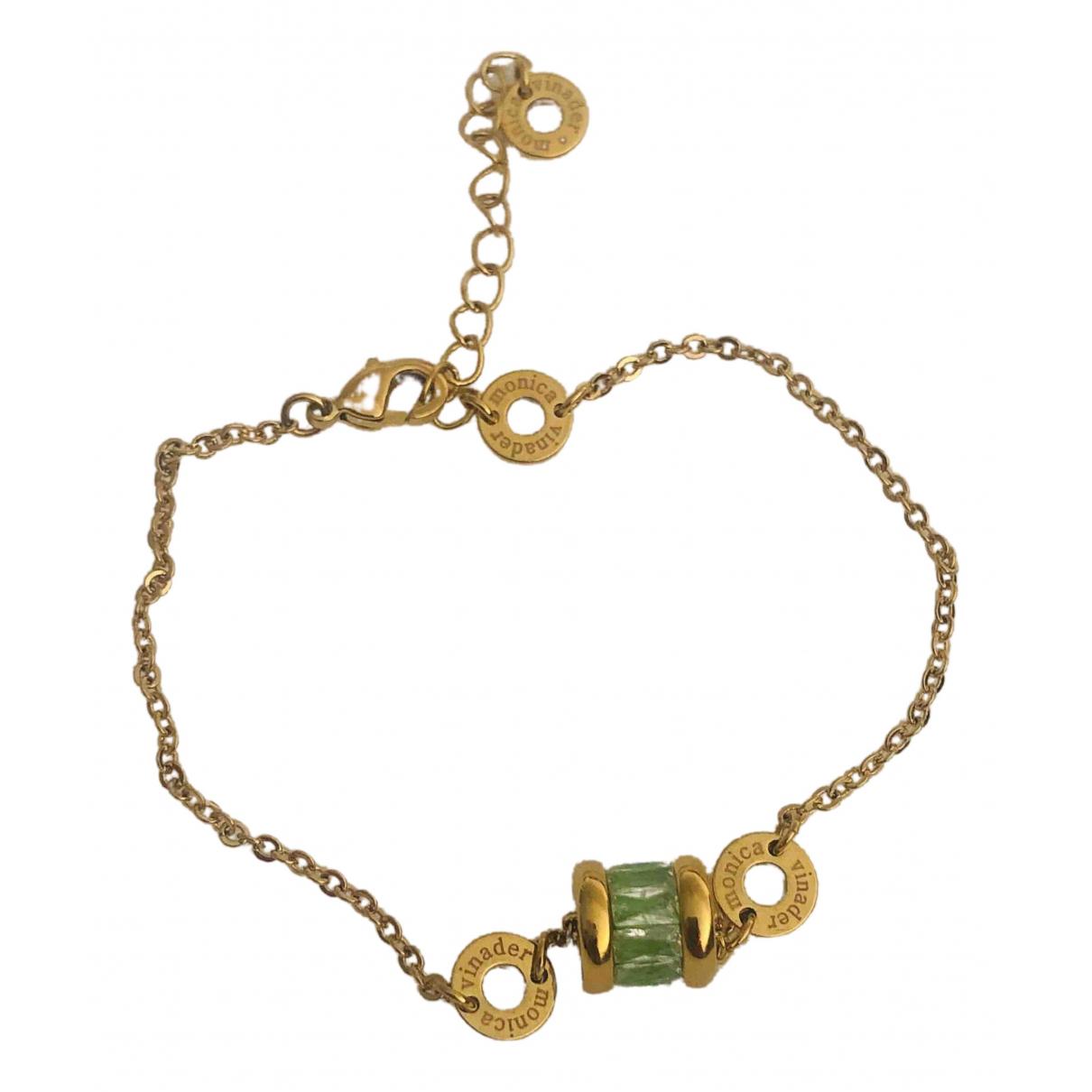 Monica Vinader - Bracelet   pour femme en autre - dore