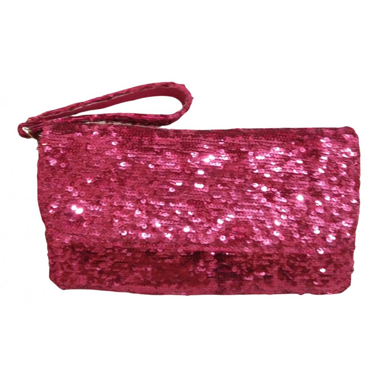 Ghibli \N Pink Leather Clutch bag for Women \N