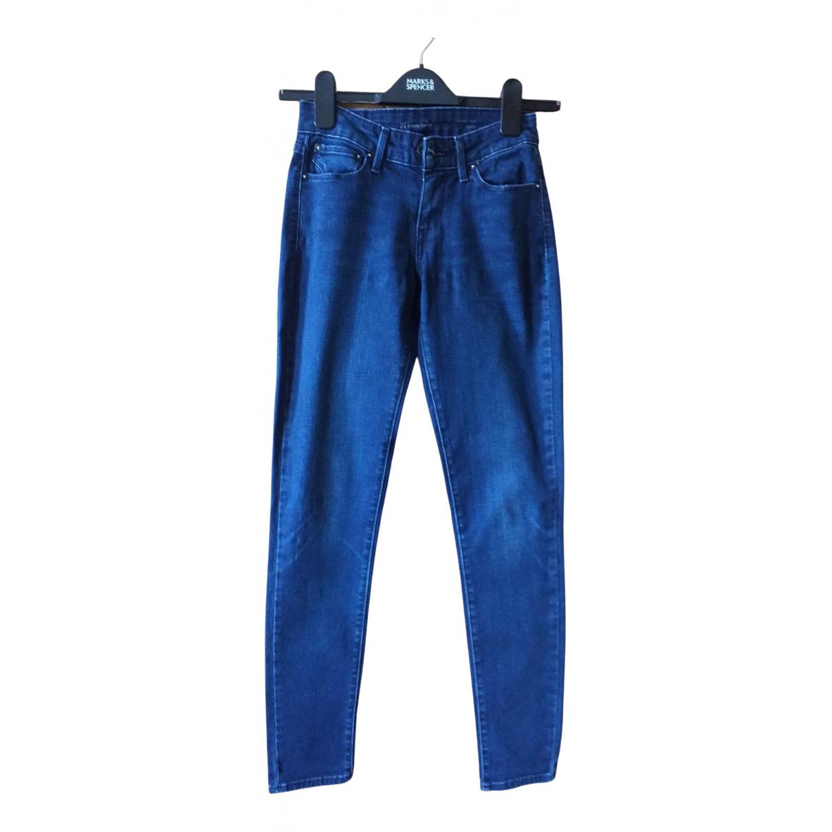 Levi's N Blue Denim - Jeans Jeans for Women 32 FR