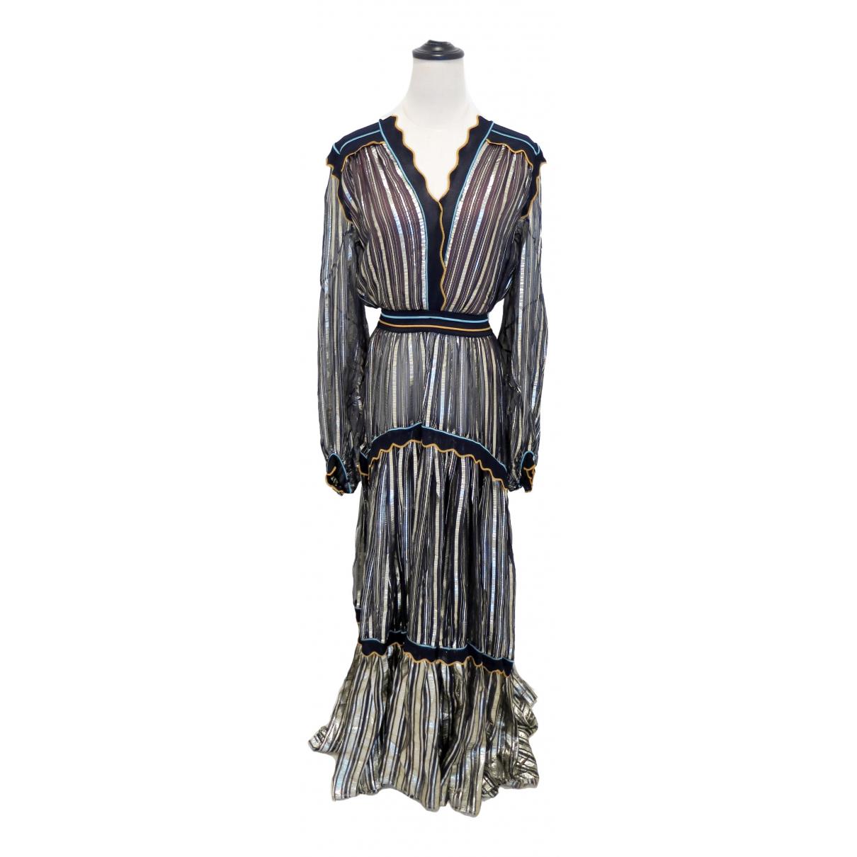 Maxi vestido de Seda Peter Pilotto