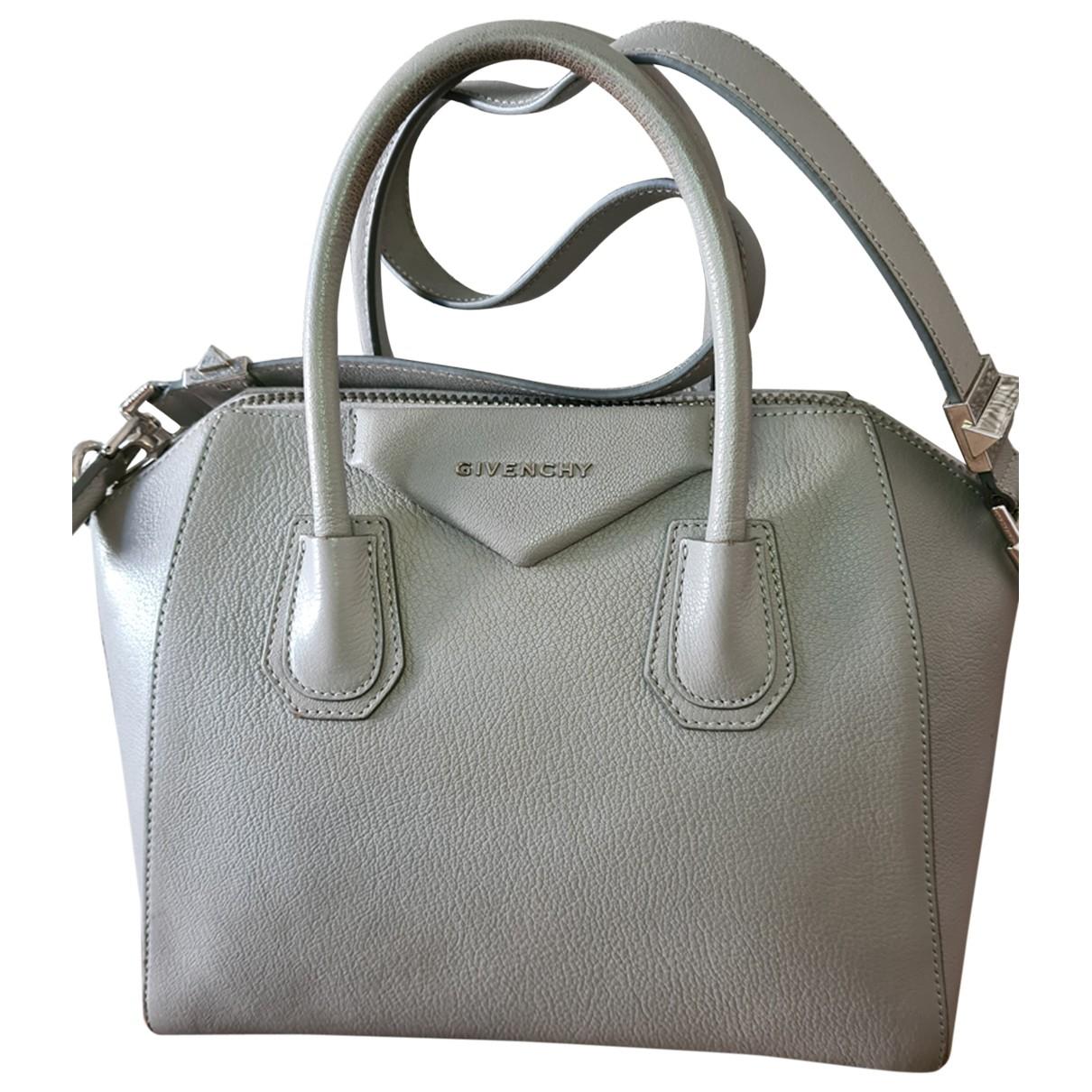 Givenchy - Sac a main Antigona pour femme en cuir - gris