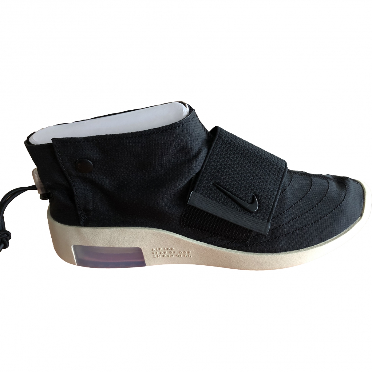 Nike X Fear Of God Moccasin Black Cloth Trainers for Men 40 EU