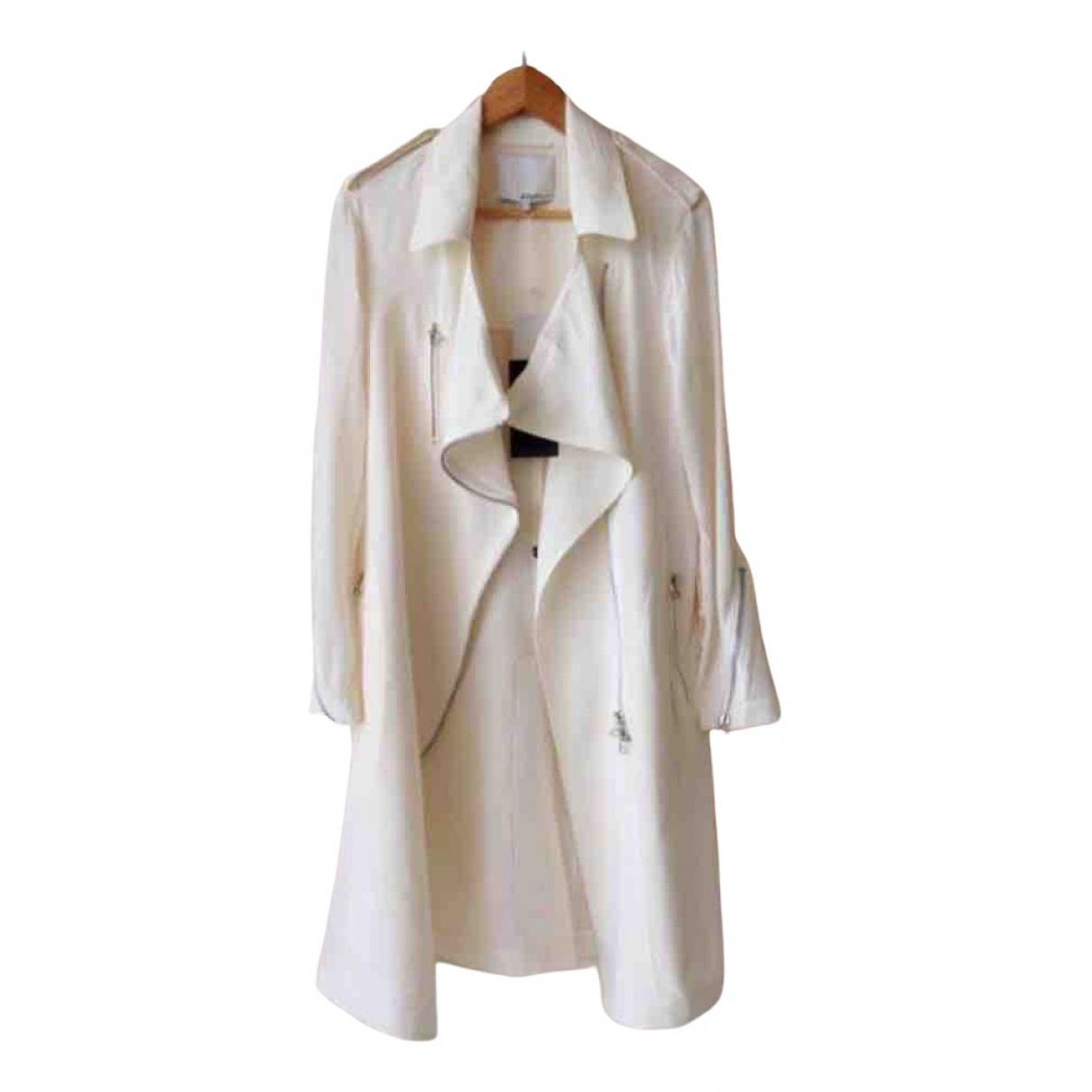 3.1 Phillip Lim - Manteau   pour femme en soie - blanc