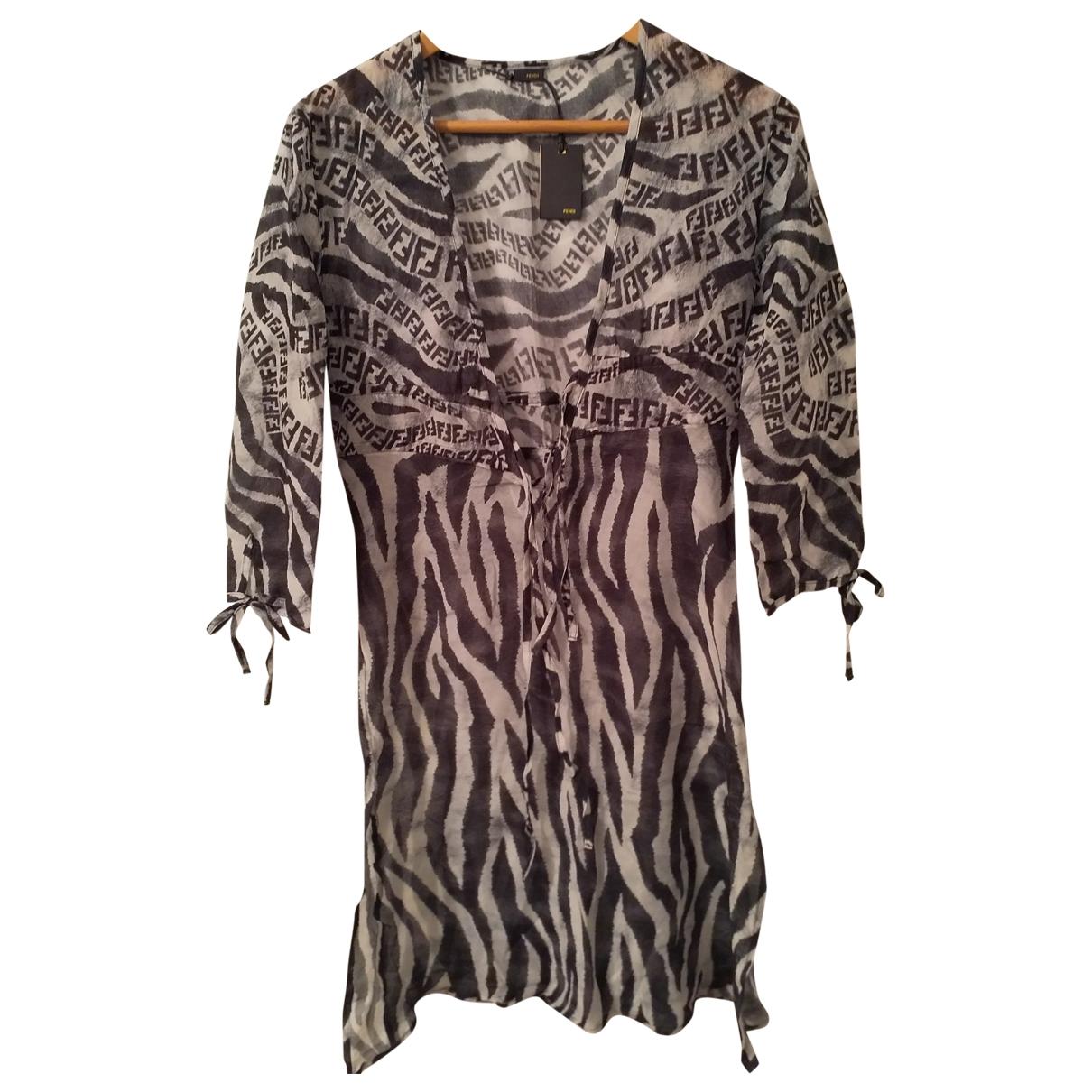 Fendi \N Cotton dress for Women 40 IT