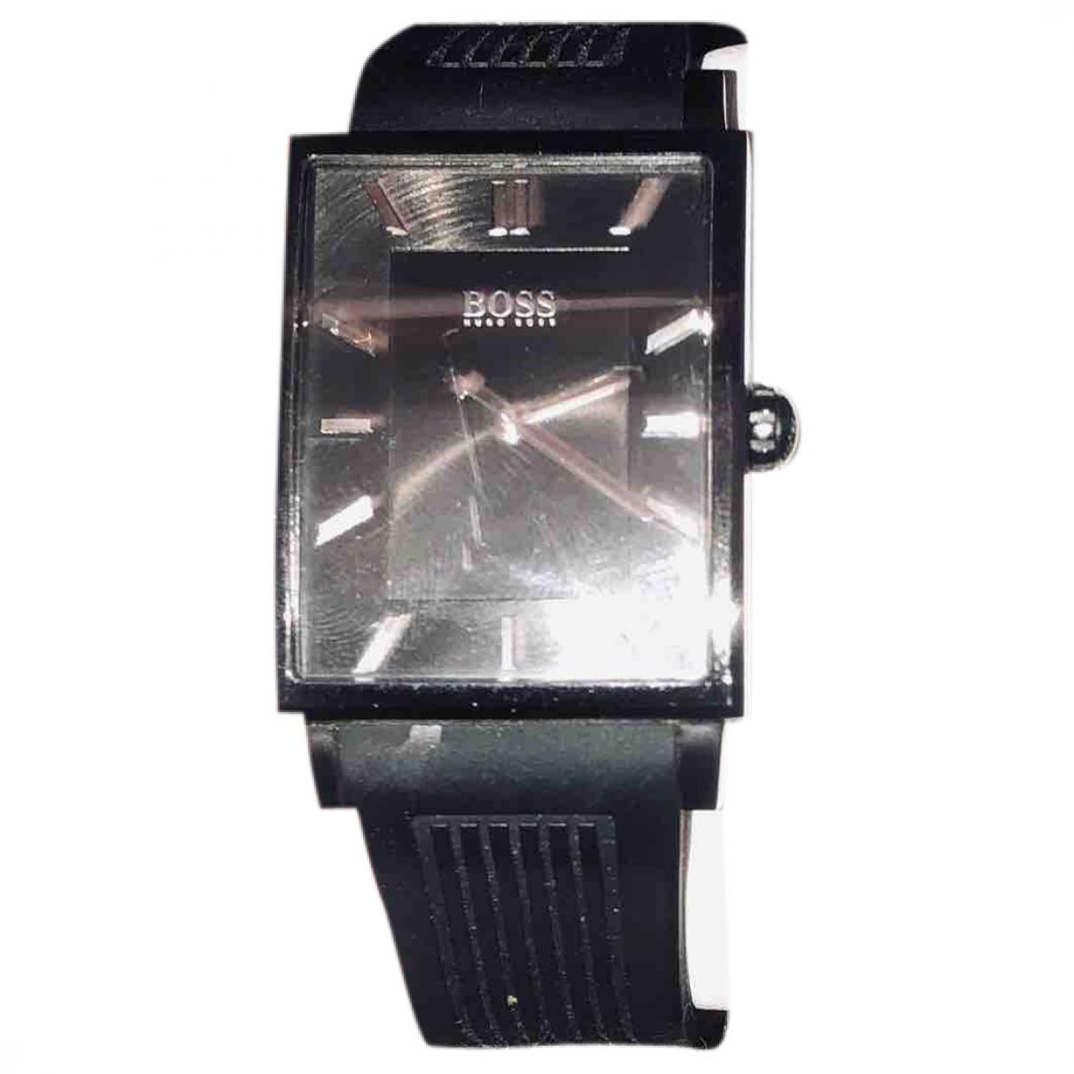 Hugo Boss \N Black Steel watch for Men \N