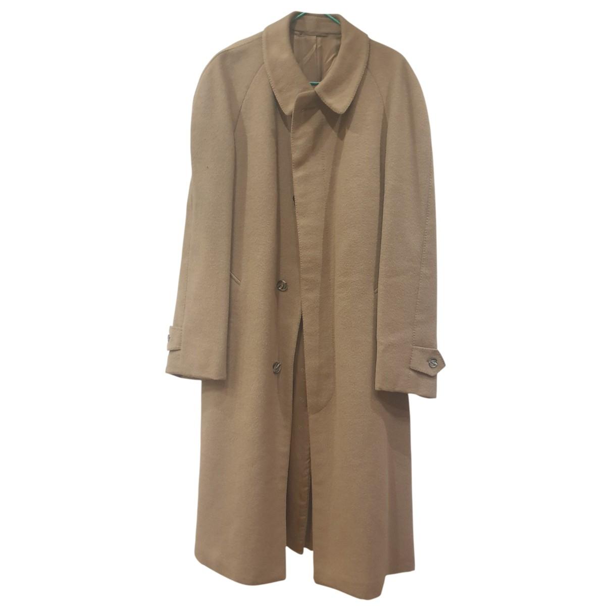 Dior - Manteau   pour homme en laine - camel