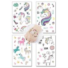 Cartoon Animal Shaped Tattoo Sticker 4pack