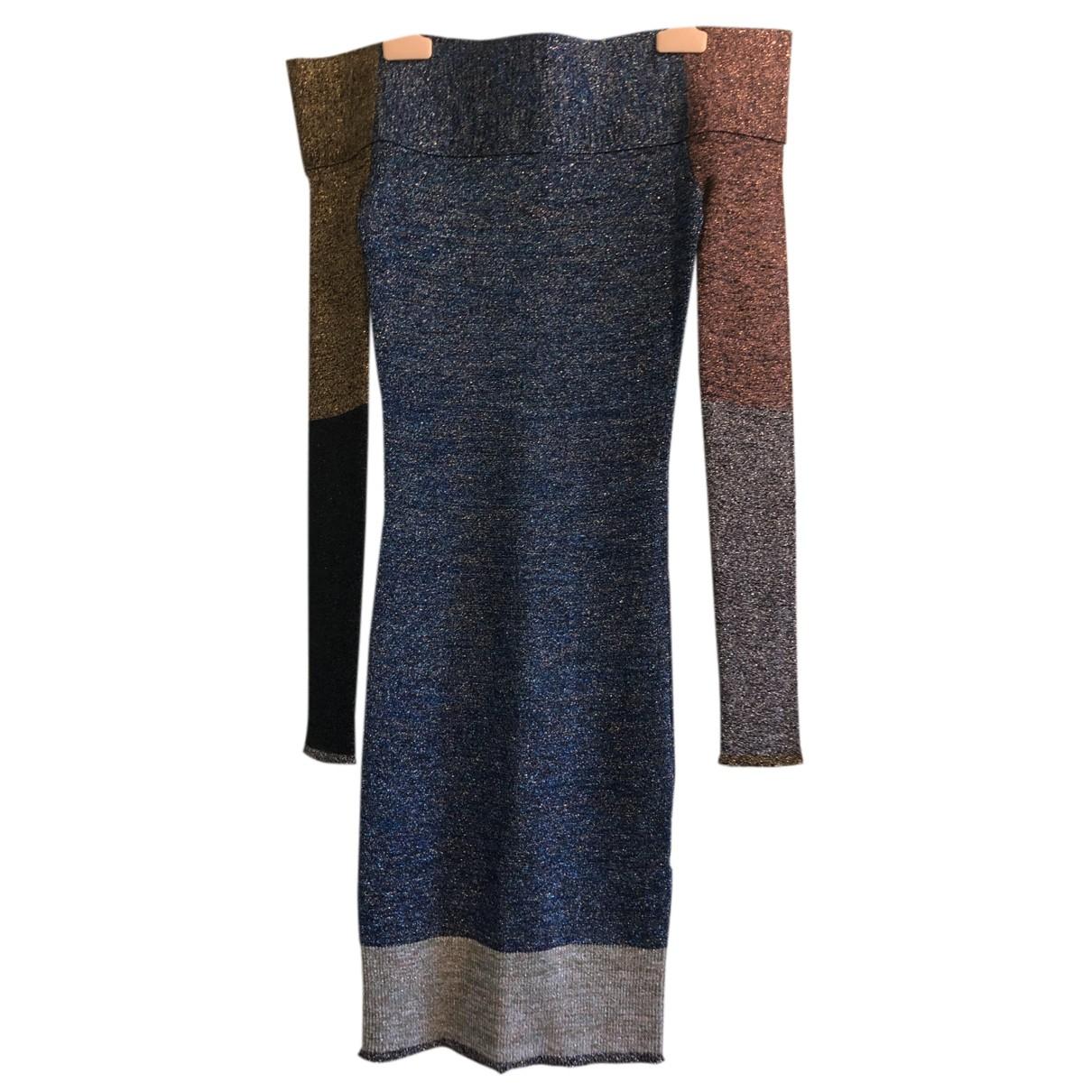 Christopher Kane \N Kleid in  Bunt Wolle