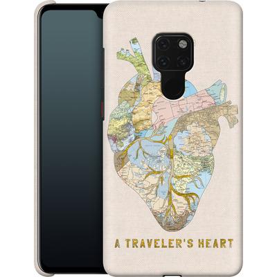 Huawei Mate 20 Smartphone Huelle - A Travelers Heart von Bianca Green