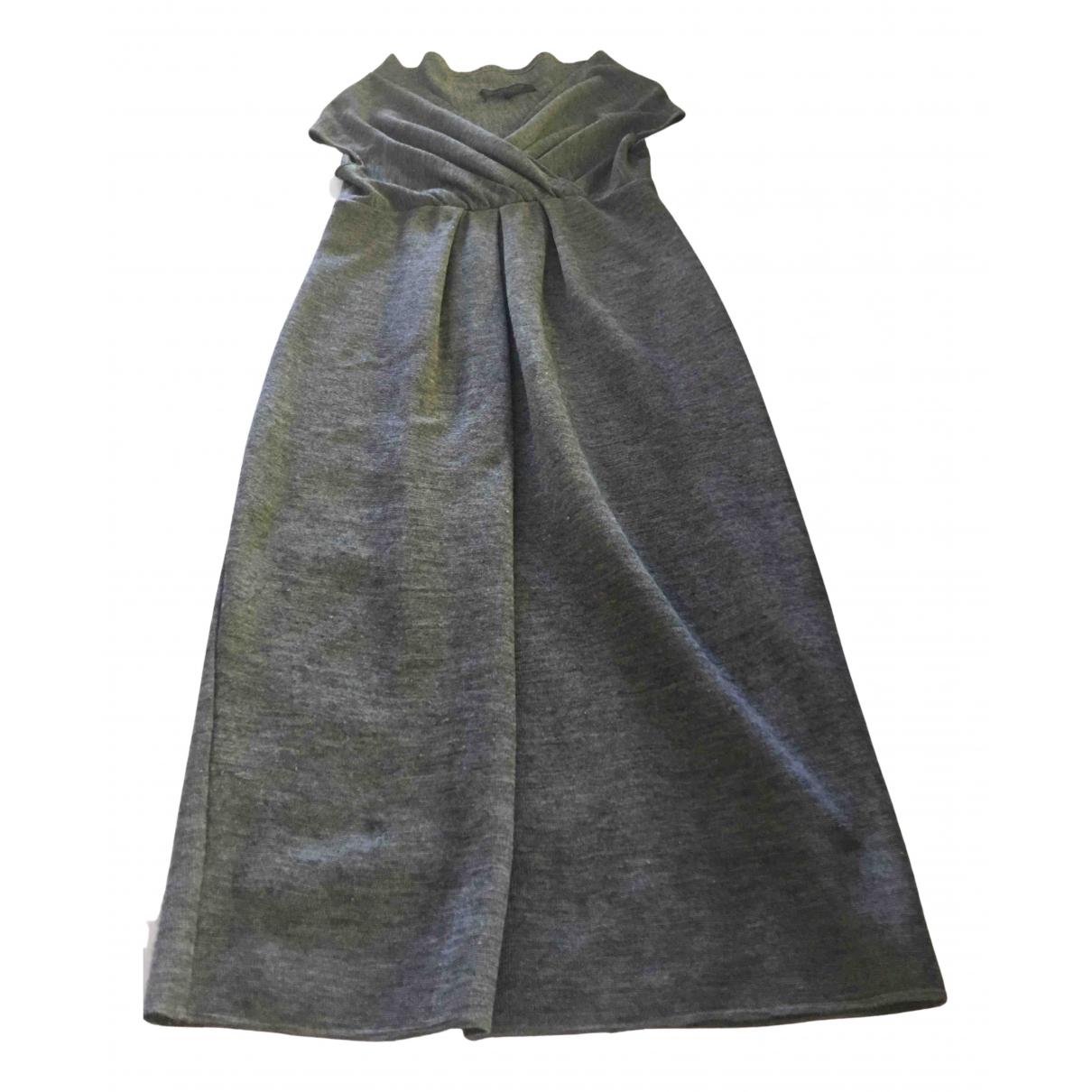 Giambattista Valli N Grey Wool dress for Women 42 IT
