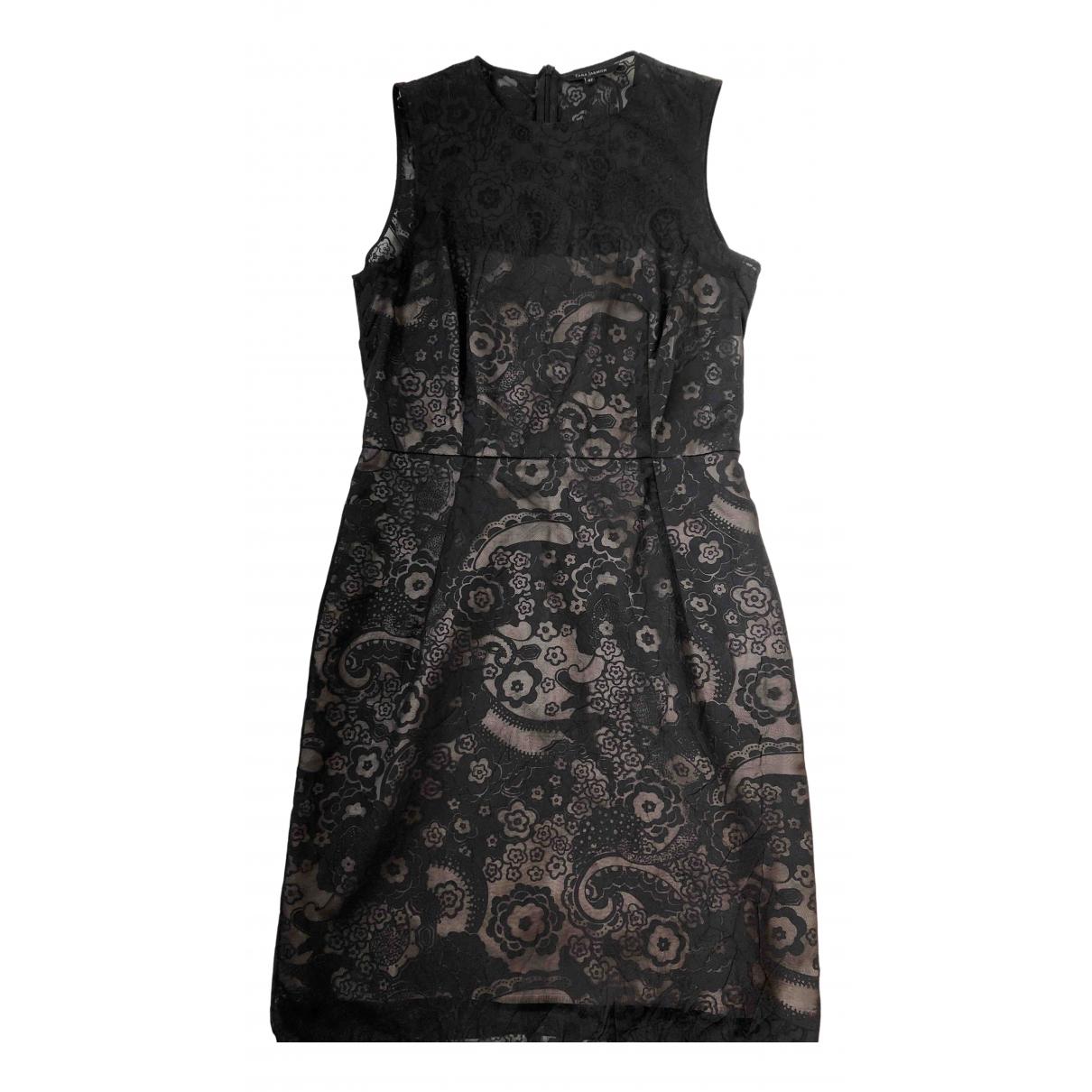 Tara Jarmon - Robe   pour femme en coton - noir