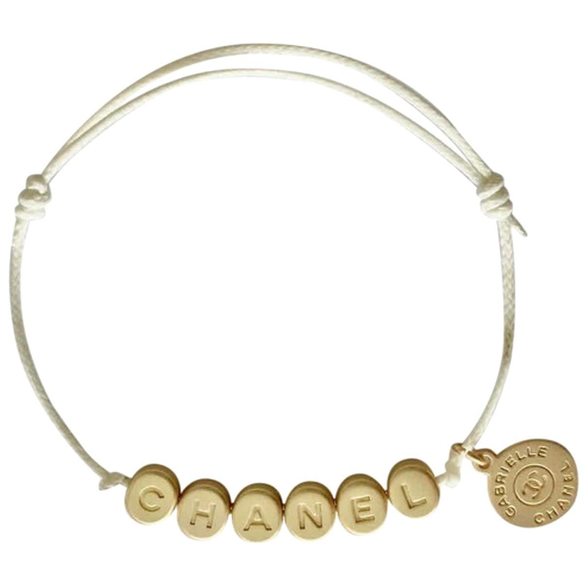 Chanel N Gold bracelet for Women N