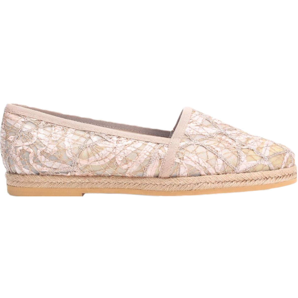 Pollini \N Beige Cloth Espadrilles for Women 37 EU