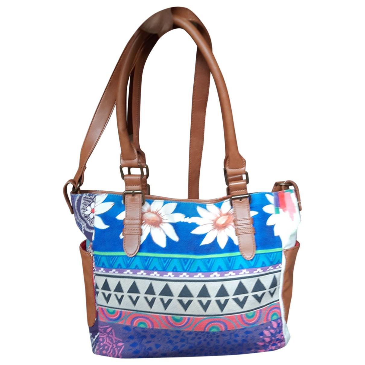 Desigual N Leather handbag for Women N