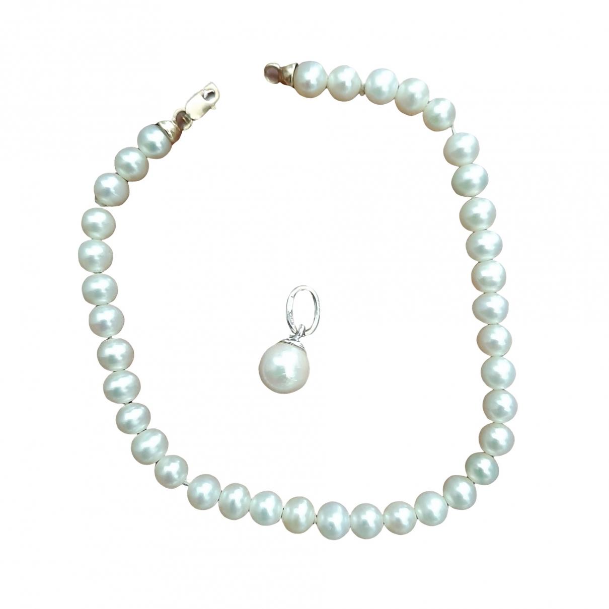 - Parure Nacre pour femme en perle - blanc
