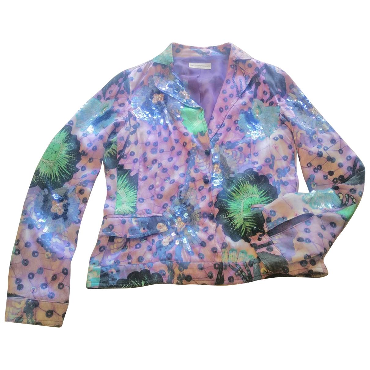 Emporio Armani \N Silk jacket for Women 42 IT